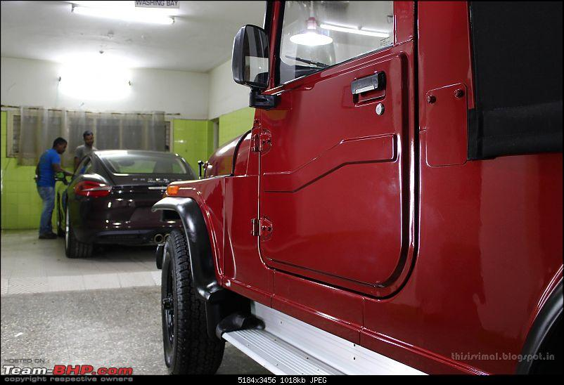 Mahindra Thar CRDe - Forged in Hell!-carcare2.jpg