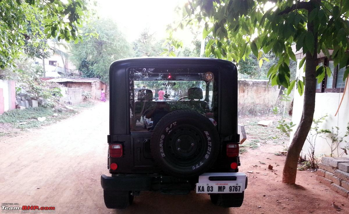 A Pre Owned Mahindra Thar es home Page 3 Team BHP