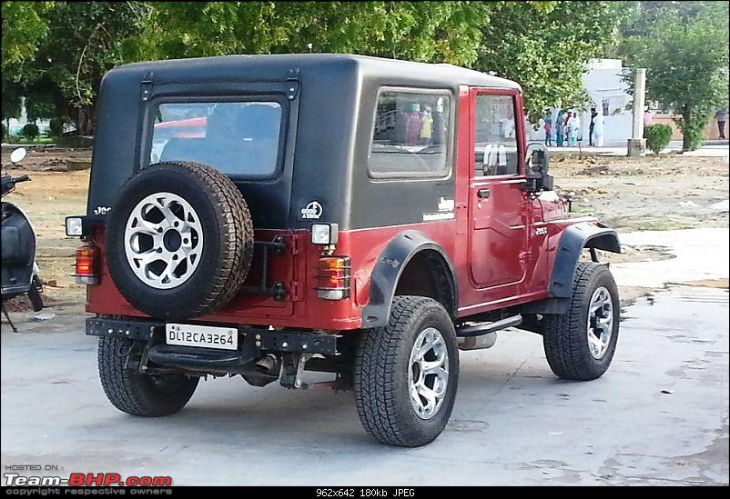 Never thought I'd buy a Mahindra Thar! My Jeep Story. EDIT: Now sold-20130815_173713.jpg