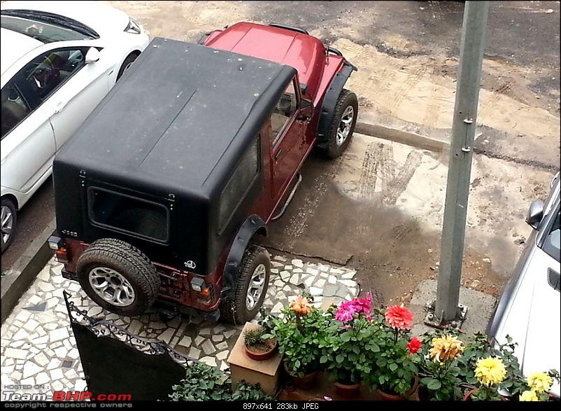 Never thought I'd buy a Mahindra Thar! My Jeep Story. EDIT: Now sold-20140215_110118.jpg