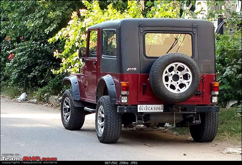 Never thought I'd buy a Mahindra Thar! My Jeep Story. EDIT: Now sold-rear_2.jpg