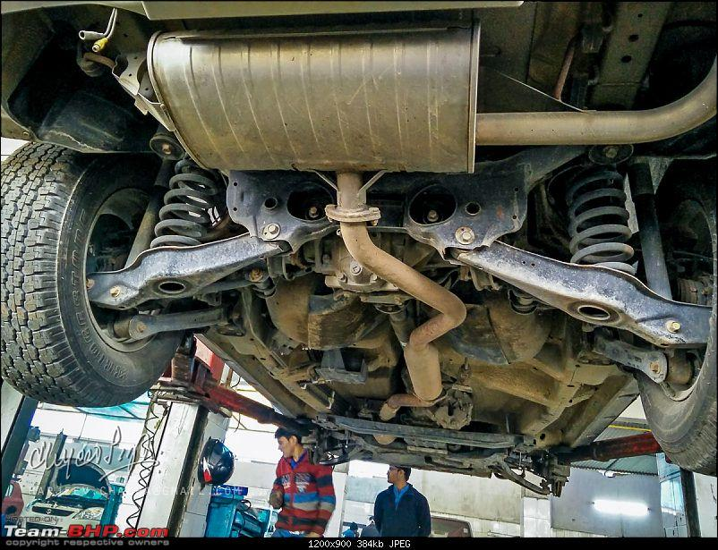 The Red Devil makes way for the Silver Fox - My 2008 Suzuki Grand Vitara-underbody-rear-view-3-img_20160124_105852.jpg