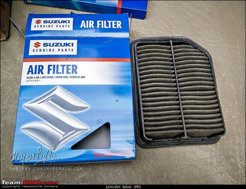 The Red Devil makes way for the Silver Fox - My 2008 Suzuki Grand Vitara-air-filter-img_20160125_111800.jpg