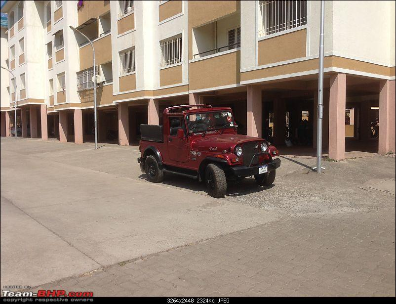 My li'l Red Mahindra Thar with some practical modifications-img_3862.jpg