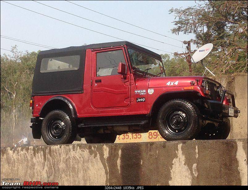 My li'l Red Mahindra Thar with some practical modifications-img_3927.jpg