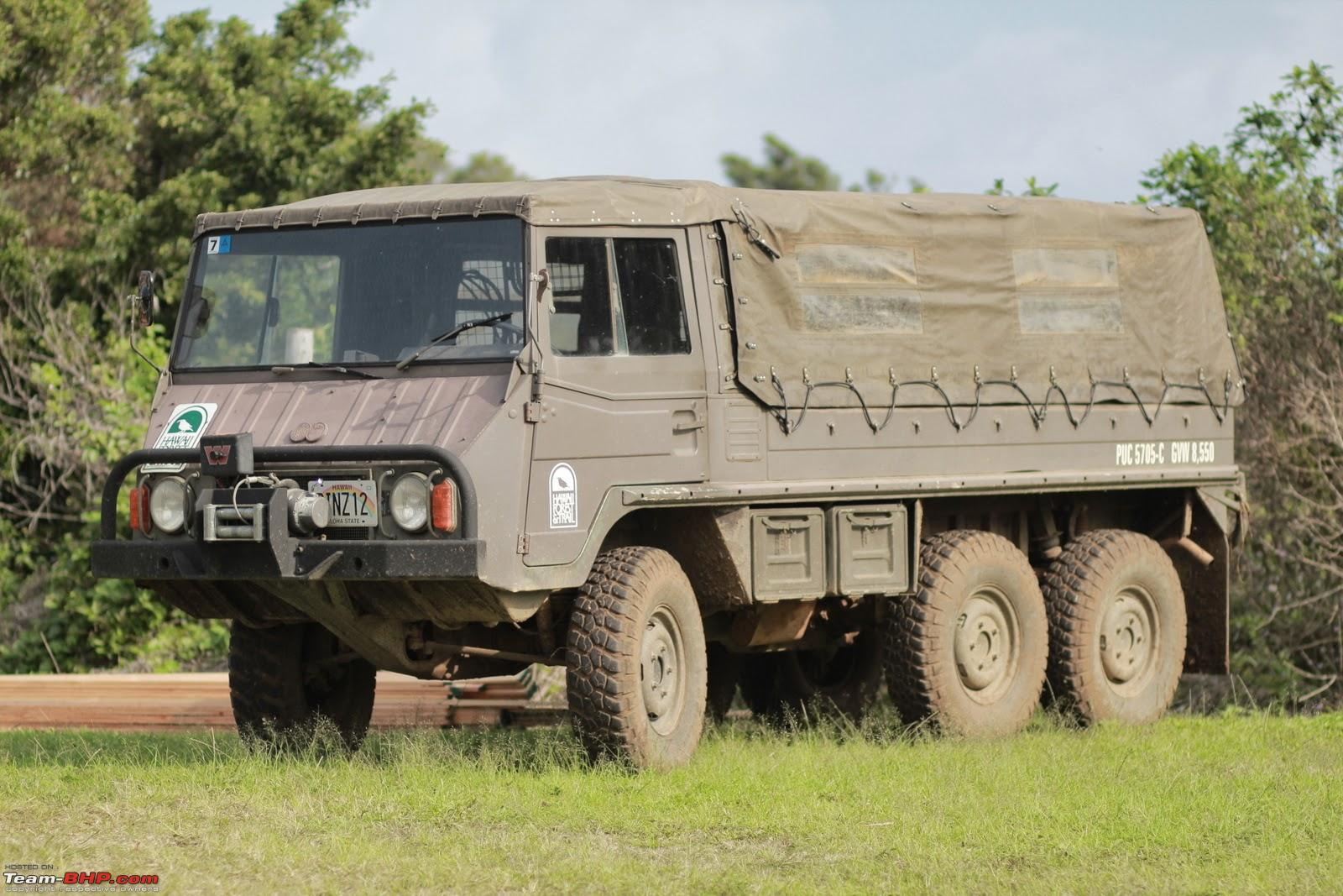 The Pinzgauer 4x4 6x6 Team Bhp