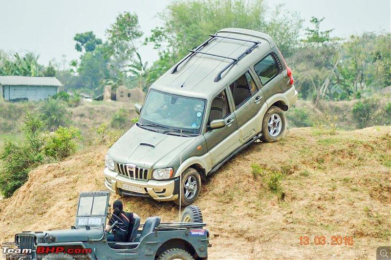 Marengo: Rocky Beige Mahindra Scorpio mHawk 4WD & MLD. 4 years & 1 lakh kms up!-12829514_arengo.jpg