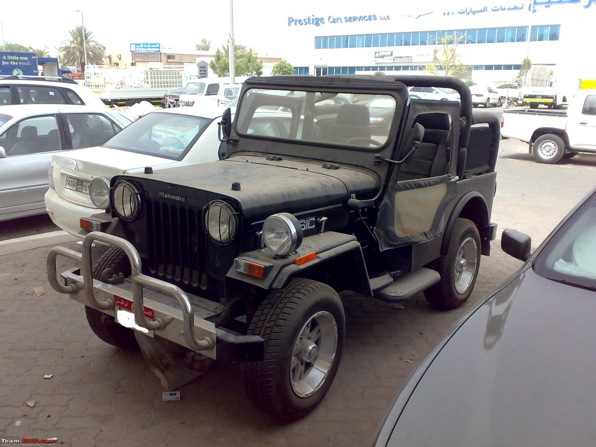 "MM JEEP"" is haunting me even in UAE Team BHP"
