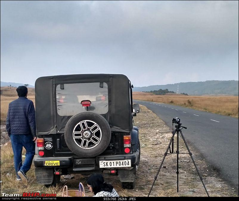 Fourknotfour - My Black Mahindra Thar CRDe (refreshed edition)-rear-no-luggage.jpg