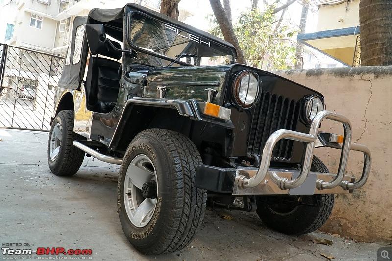 Mahindra Classic 4x4. 2.5 Liter Diesel. Back on the road!-zc.jpg