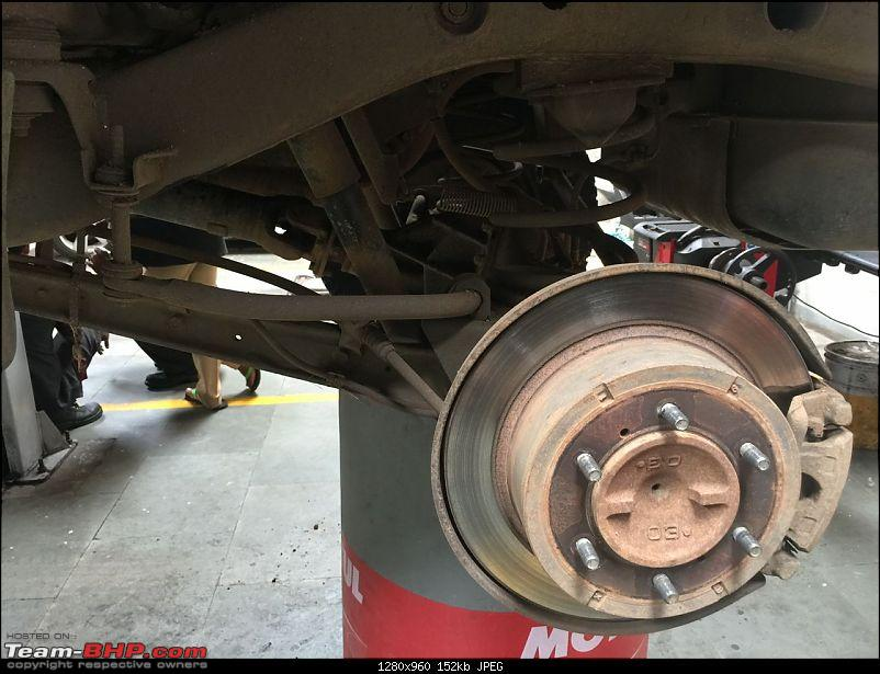 Mitsubishi Pajero SFX - Project Overland Conversion-07-tyre-removed-rear.jpg
