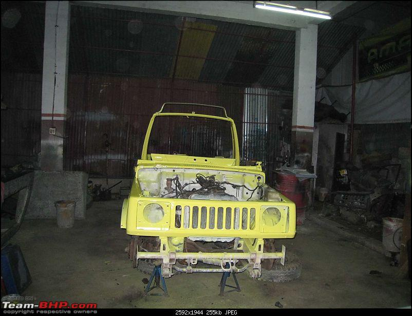 GYPSY Unlimited! - by JeepCaptain-gypsy-first-coat-paint.jpg
