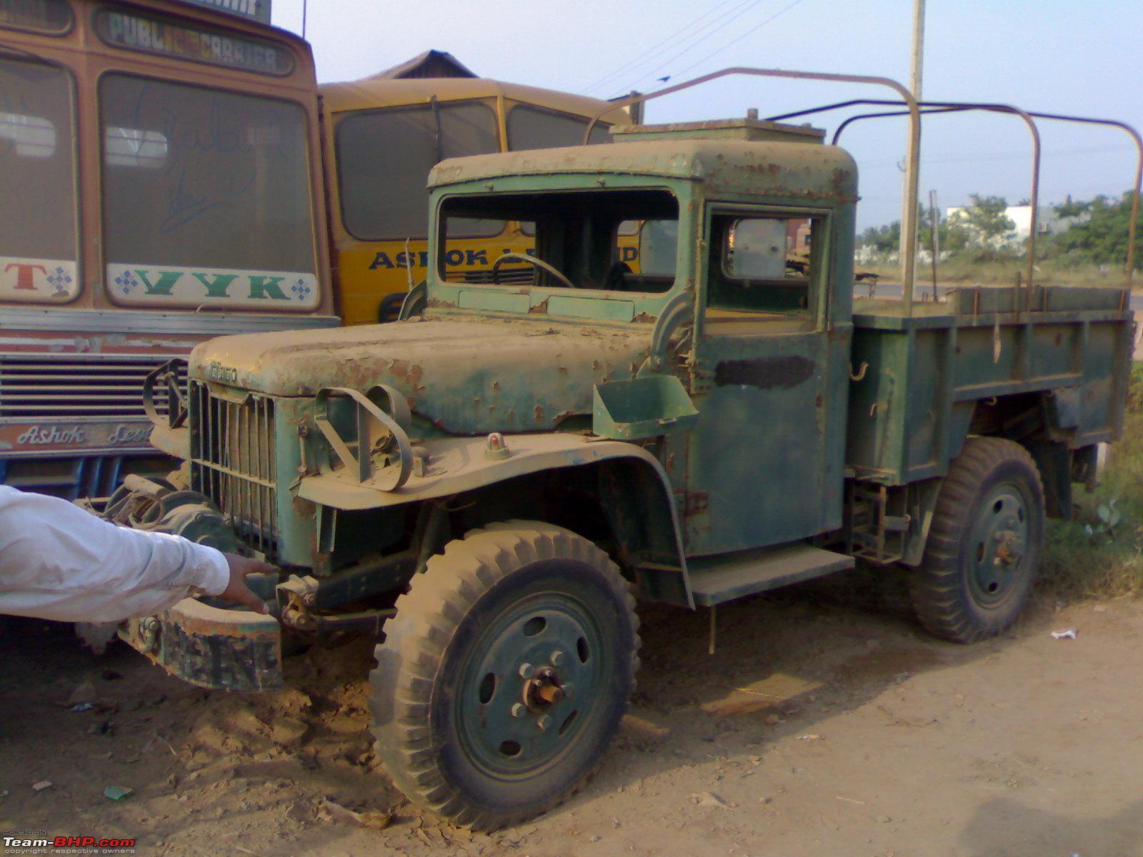 5 Ton Army Trucks >> Nissan 4W73 aka 1 ton - Team-BHP