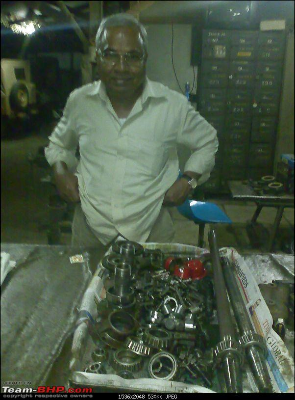Our 'new' 1972 Mahindra CJ3B 4WD-venkat-anna-cleaned-parts.jpg