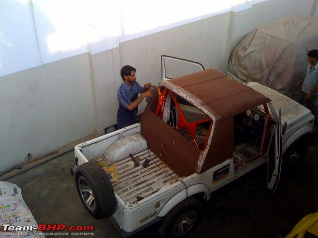 Name:  photo cage installed and cabin wip.jpg Views: 9270 Size:  74.0 KB