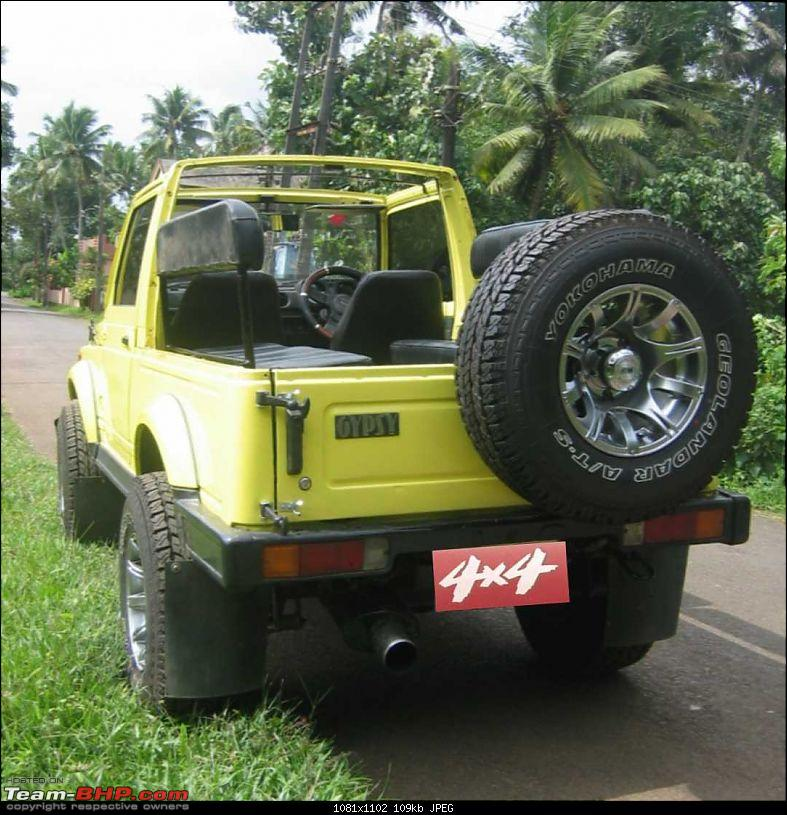 GYPSY Unlimited! - by JeepCaptain-gypsy-topless_rear.jpg