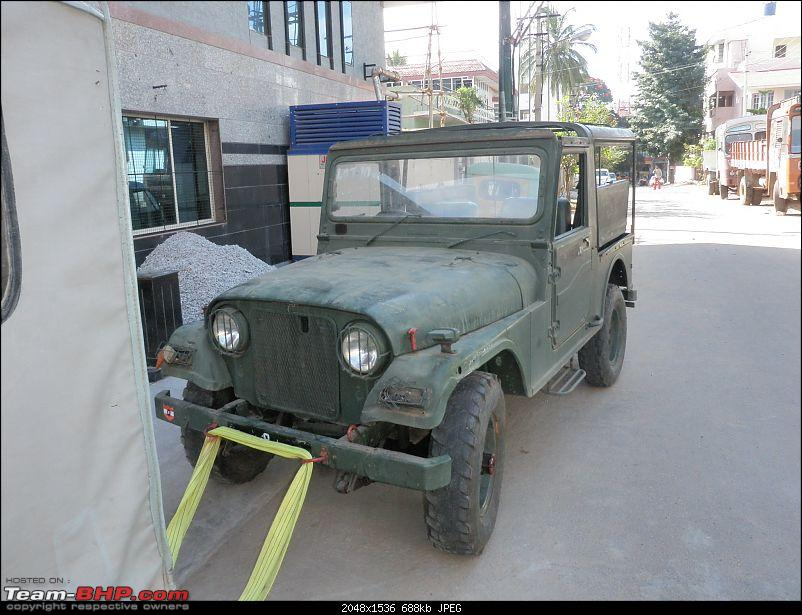 "It's a 'Jeep' Thing!"" - Army Spec MM550 - Restoration in Bangalore - PHASE 1 COMPLETE-p1090650.jpg"
