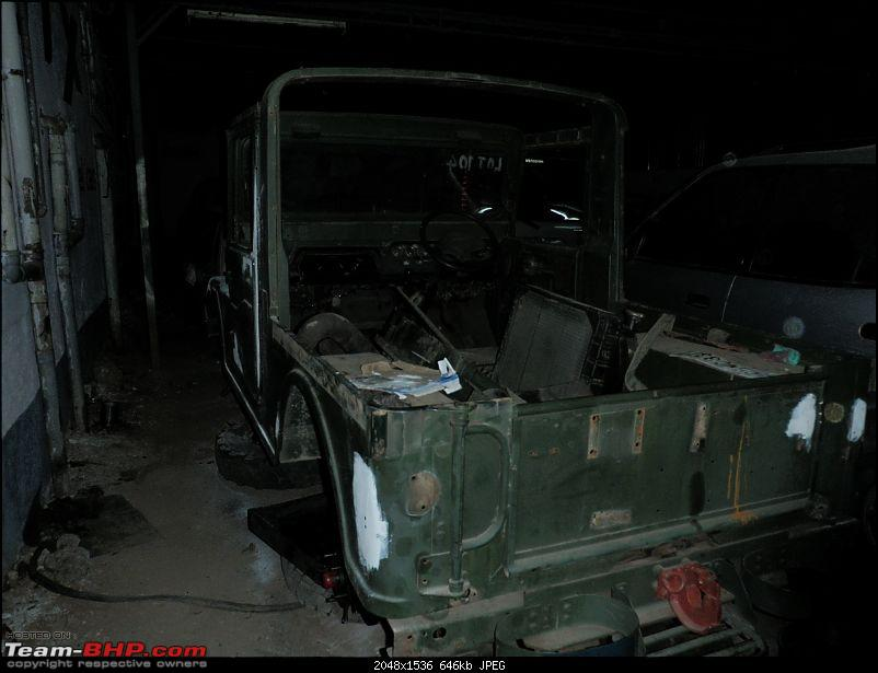 "It's a 'Jeep' Thing!"" - Army Spec MM550 - Restoration in Bangalore - PHASE 1 COMPLETE-p1130645.jpg"