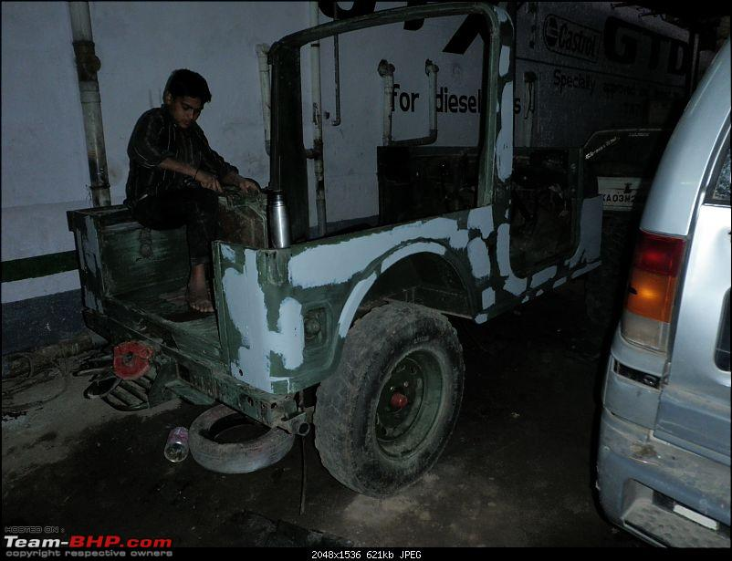 """It's a 'Jeep' Thing!"""" - Army Spec MM550 - Restoration in Bangalore - PHASE 1 COMPLETE-p1210691.jpg"""