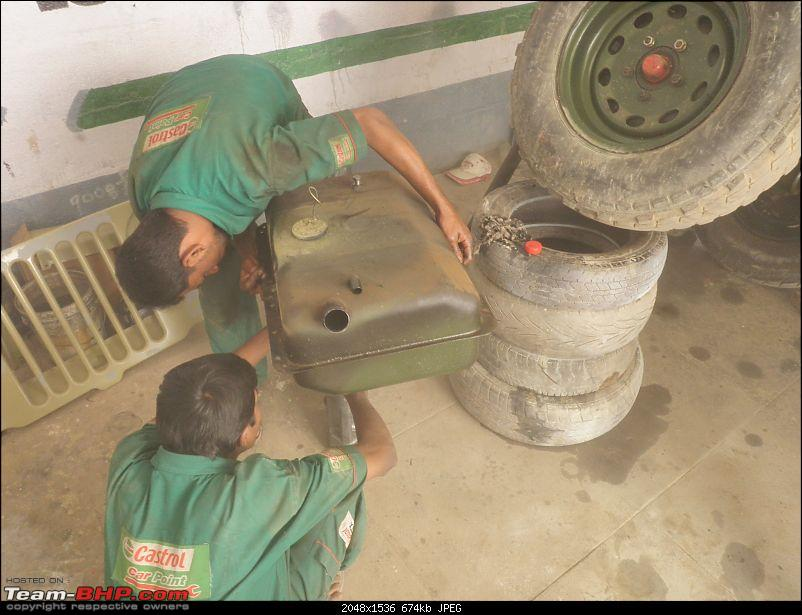"""It's a 'Jeep' Thing!"""" - Army Spec MM550 - Restoration in Bangalore - PHASE 1 COMPLETE-p1300792.jpg"""