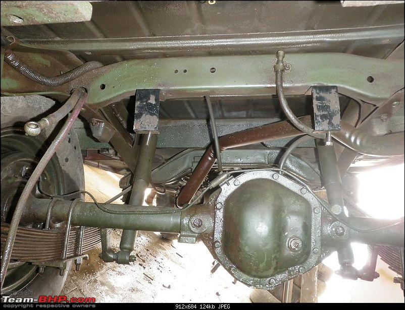 """It's a 'Jeep' Thing!"""" - Army Spec MM550 - Restoration in Bangalore - PHASE 1 COMPLETE-p1300816.jpg"""