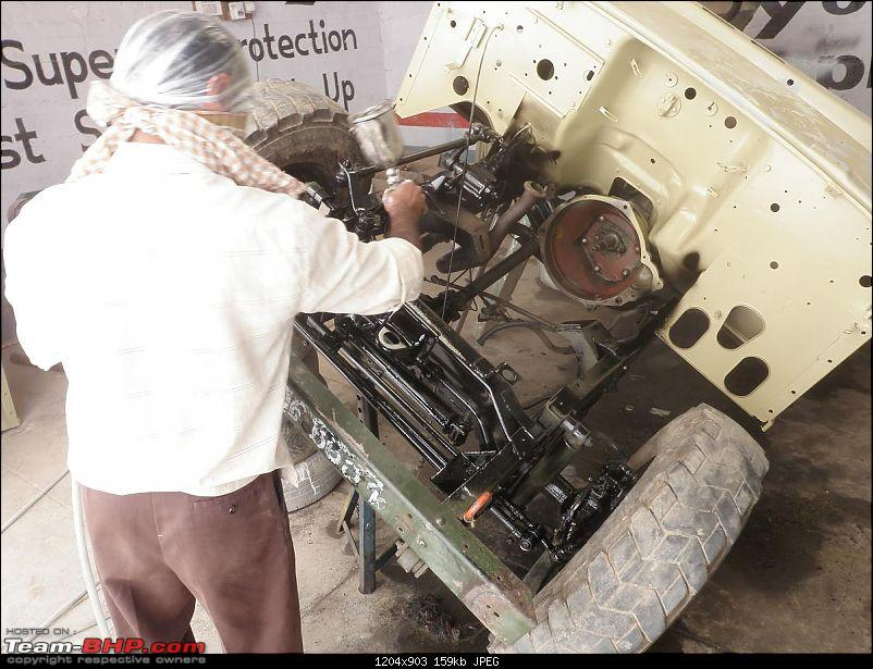 """It's a 'Jeep' Thing!"""" - Army Spec MM550 - Restoration in Bangalore - PHASE 1 COMPLETE-p1300861.jpg"""