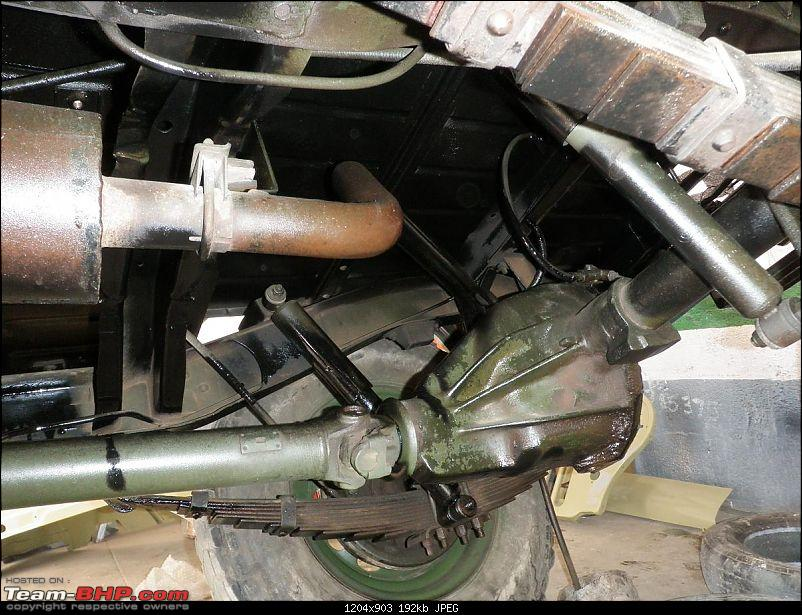 """It's a 'Jeep' Thing!"""" - Army Spec MM550 - Restoration in Bangalore - PHASE 1 COMPLETE-p1300866.jpg"""