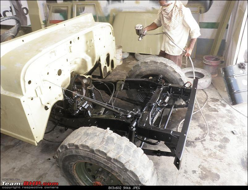 """It's a 'Jeep' Thing!"""" - Army Spec MM550 - Restoration in Bangalore - PHASE 1 COMPLETE-p1300880.jpg"""
