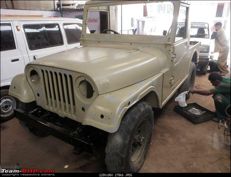 """It's a 'Jeep' Thing!"""" - Army Spec MM550 - Restoration in Bangalore - PHASE 1 COMPLETE-p2040745.jpg"""
