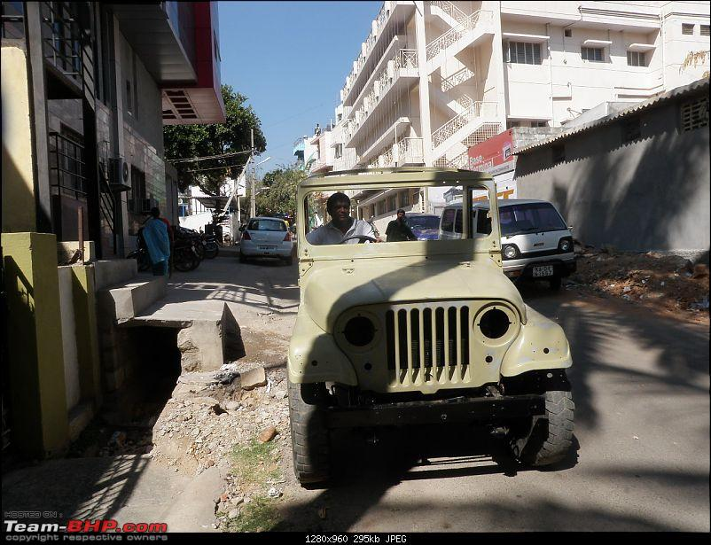 """It's a 'Jeep' Thing!"""" - Army Spec MM550 - Restoration in Bangalore - PHASE 1 COMPLETE-p2040763.jpg"""