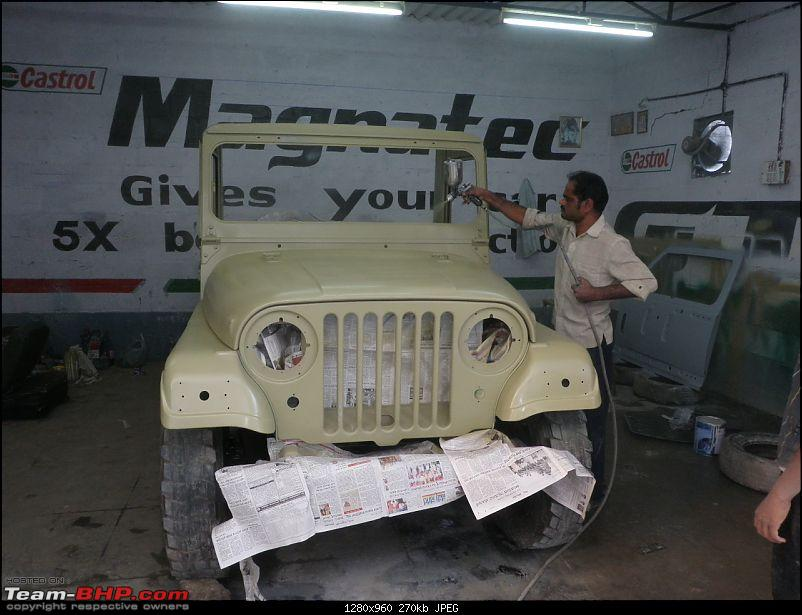 """It's a 'Jeep' Thing!"""" - Army Spec MM550 - Restoration in Bangalore - PHASE 1 COMPLETE-p2040770.jpg"""