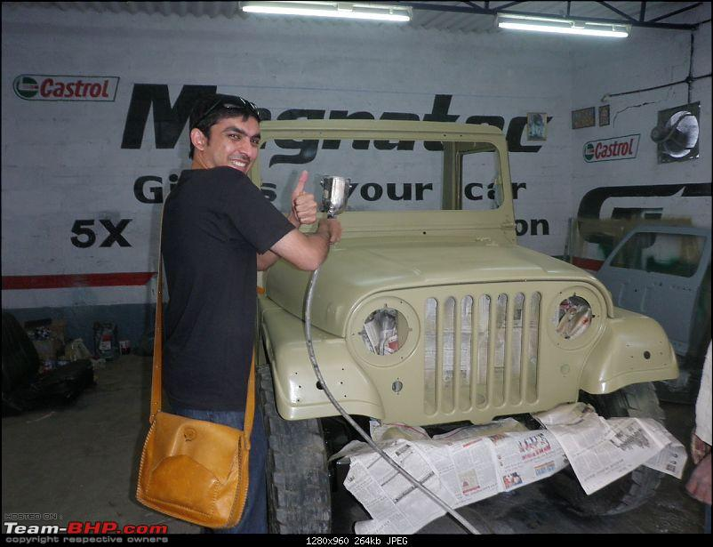 """It's a 'Jeep' Thing!"""" - Army Spec MM550 - Restoration in Bangalore - PHASE 1 COMPLETE-p2040773.jpg"""