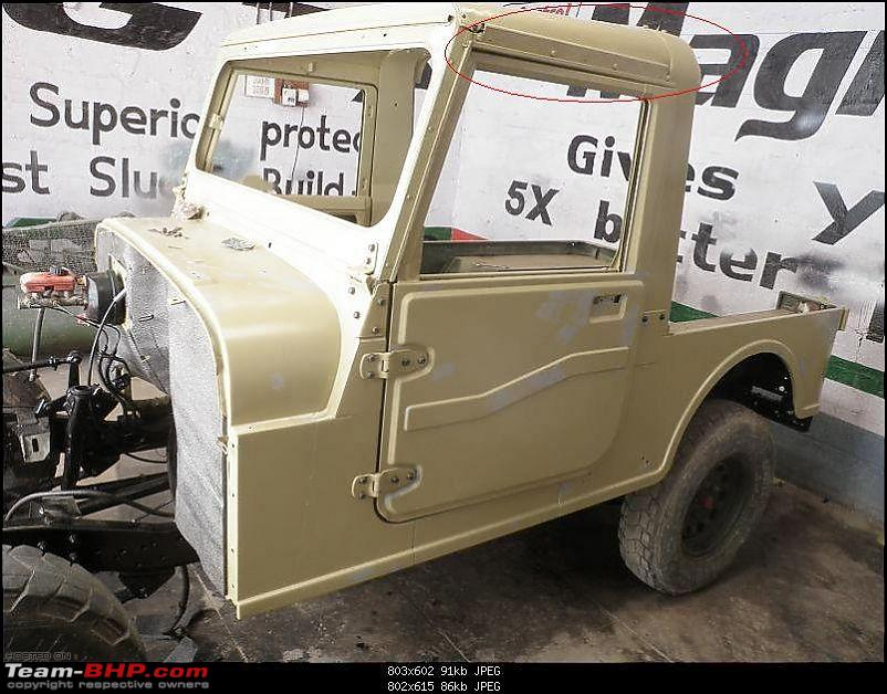 """It's a 'Jeep' Thing!"""" - Army Spec MM550 - Restoration in Bangalore - PHASE 1 COMPLETE-p2010625.jpg"""