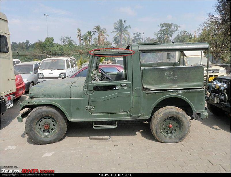 """It's a 'Jeep' Thing!"""" - Army Spec MM550 - Restoration in Bangalore - PHASE 1 COMPLETE-p1090631.jpg1.jpg"""