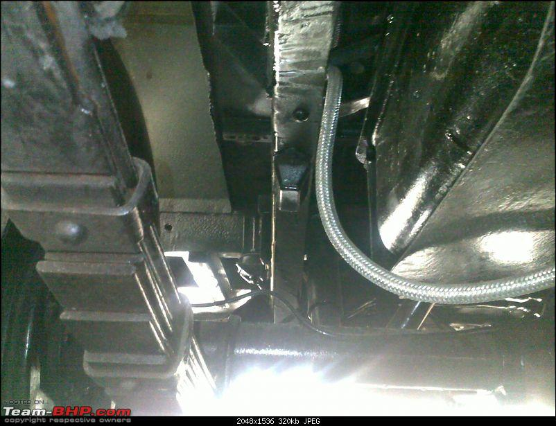 """It's a 'Jeep' Thing!"""" - Army Spec MM550 - Restoration in Bangalore - PHASE 1 COMPLETE-09022010349.jpg"""