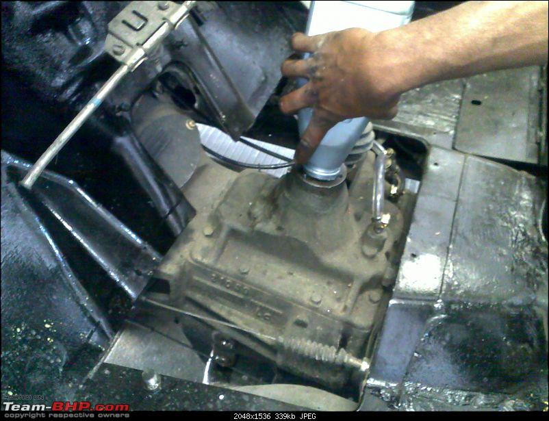 """It's a 'Jeep' Thing!"""" - Army Spec MM550 - Restoration in Bangalore - PHASE 1 COMPLETE-09022010338.jpg"""