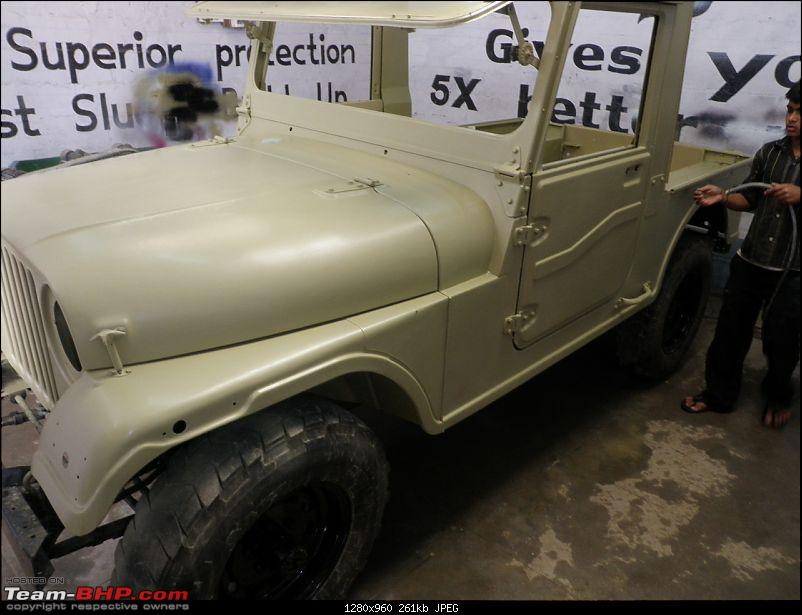 "It's a 'Jeep' Thing!"" - Army Spec MM550 - Restoration in Bangalore - PHASE 1 COMPLETE-p2120814.jpg"