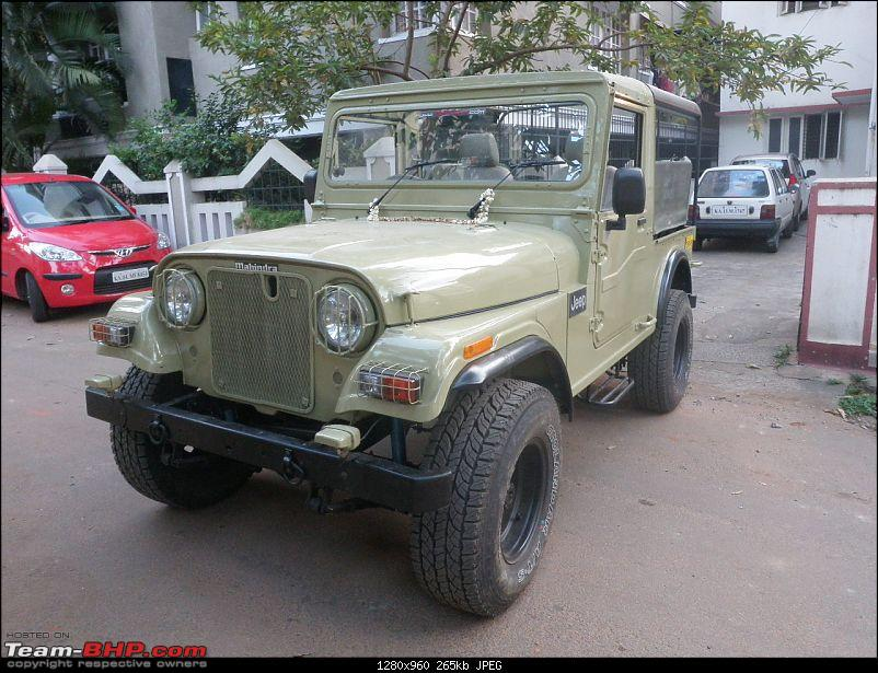 "It's a 'Jeep' Thing!"" - Army Spec MM550 - Restoration in Bangalore - PHASE 1 COMPLETE-p2180922.jpg"