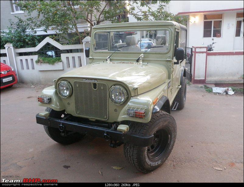 "It's a 'Jeep' Thing!"" - Army Spec MM550 - Restoration in Bangalore - PHASE 1 COMPLETE-p2180933.jpg"
