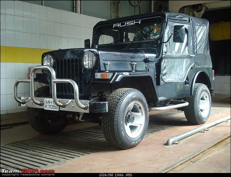 Mahindra Classic 4x4. 2.5 Liter Diesel. Back on the road!-1a.jpg