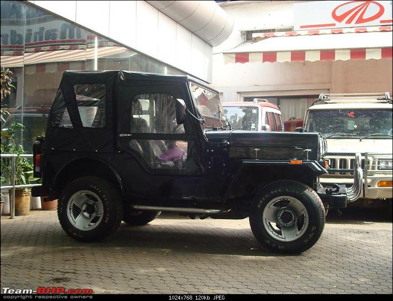 Mahindra Classic 4x4. 2.5 Liter Diesel. Back on the road!-1b.jpg