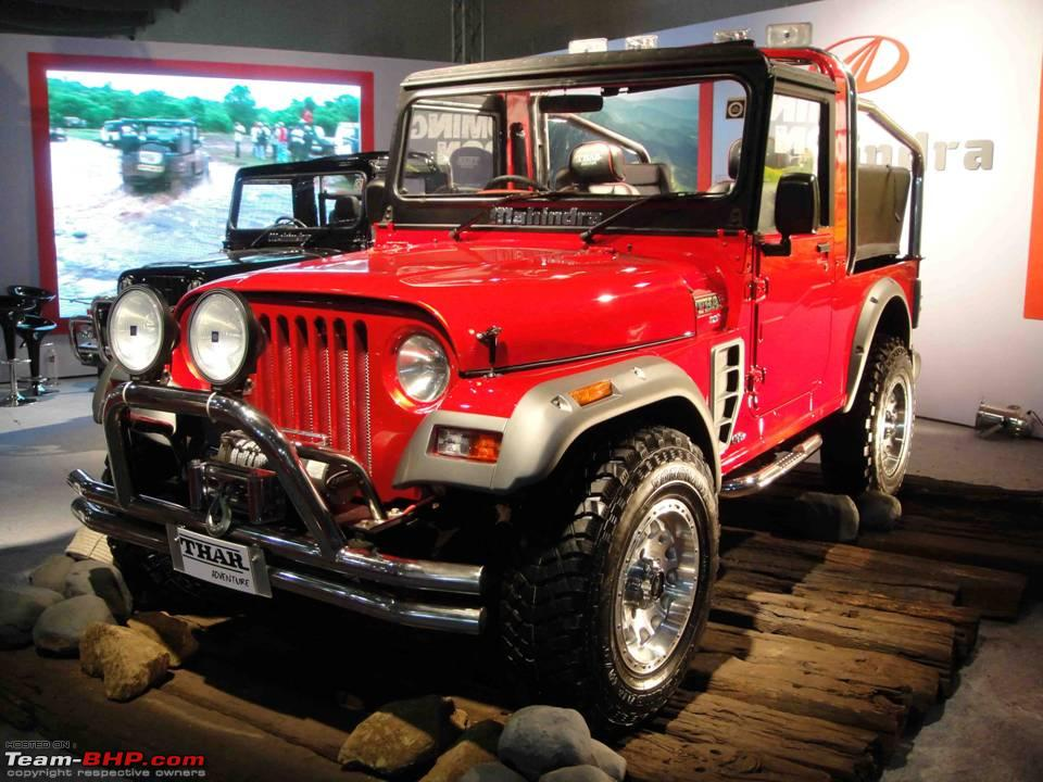 Jeep Hurricane Price In India >> Mahindra Thar Launch on 21st December 2010. Update: Price on Page 2! - Page 14 - Team-BHP