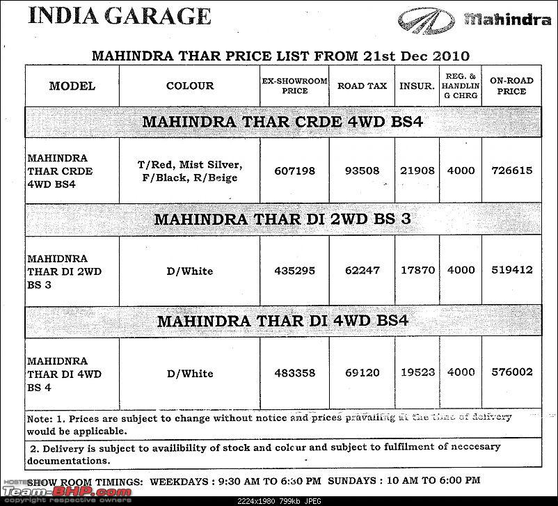 Mahindra Thar Launch on 21st December 2010. Update: Price on Page 2!-scan0002.jpg