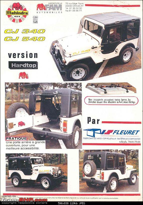 Mahindra Thar Launch on 21st December 2010. Update: Price on Page 2!-mahindrahardtopfrance.jpg