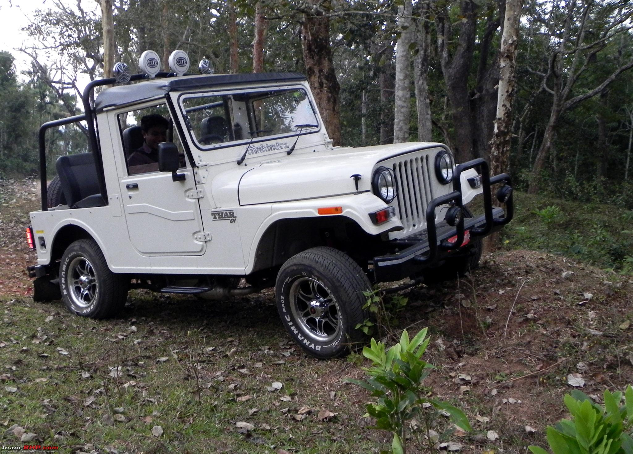 Mahindra Thar Mdi Driven Team Bhp