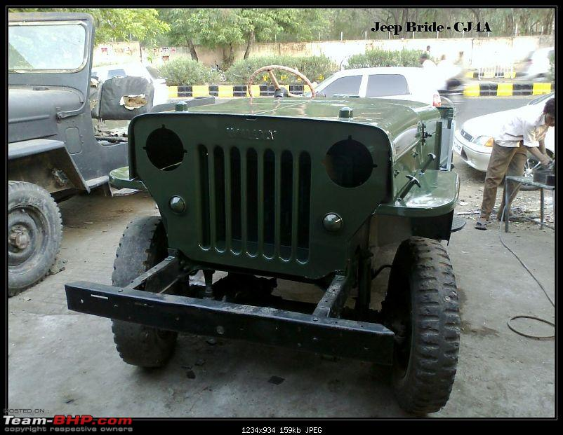 My Jeep Bride - Mahindra Willys Petrol CJ4A ( CJ3B sibling ) - Ground up restoration-21052011087.jpg