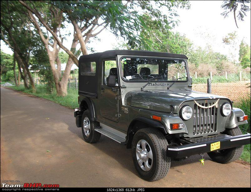 Mahindra Thar - Bringing it home - Finally! EDIT: Now sold!-img_2052.jpg