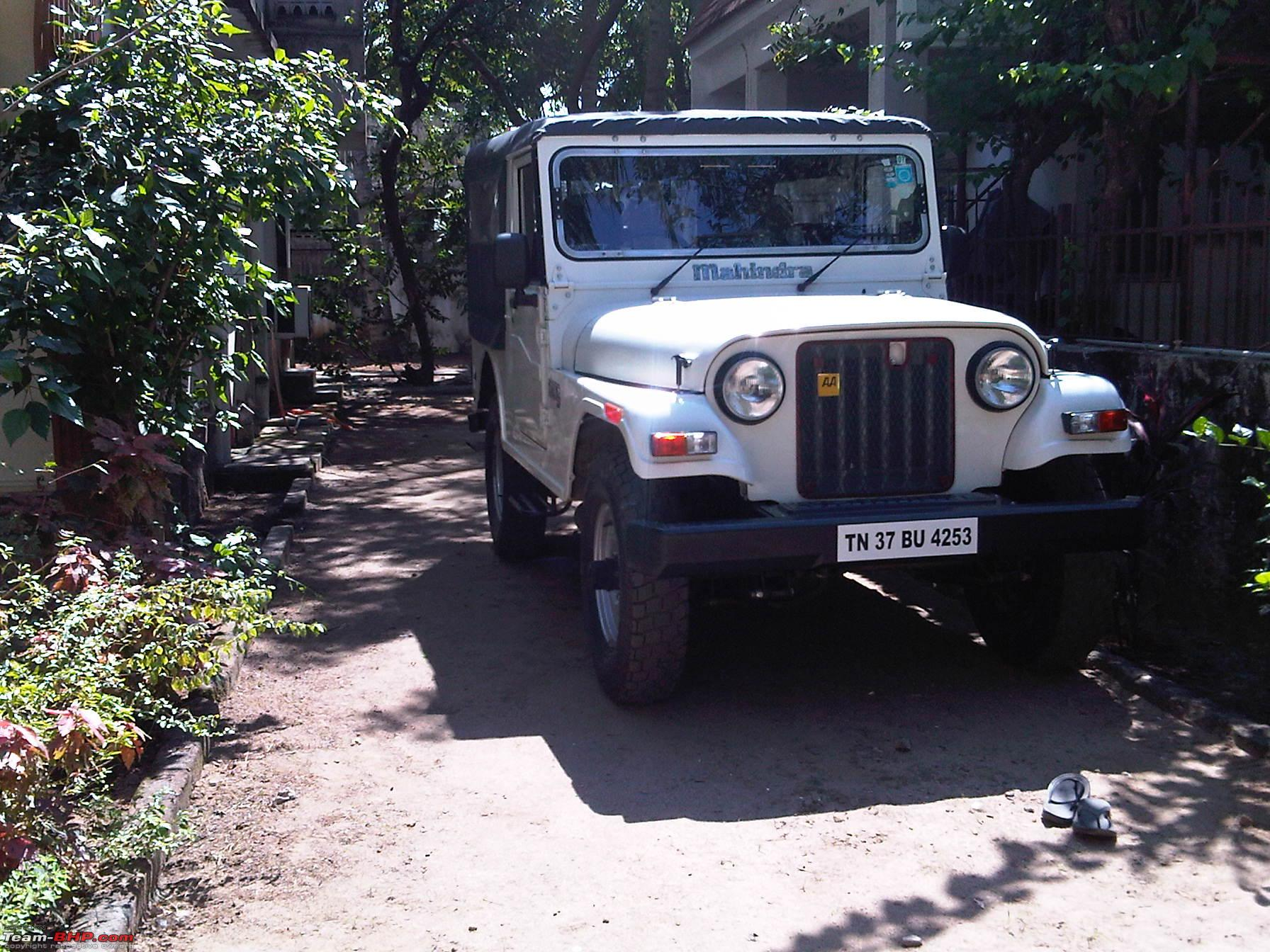 My First New Jeep The Mahindra Thar Di Finally Page 2 Team Bhp
