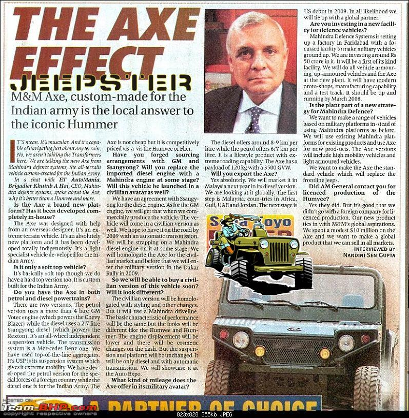 Importing LHD M&M THAR into india!-axe-1.jpg