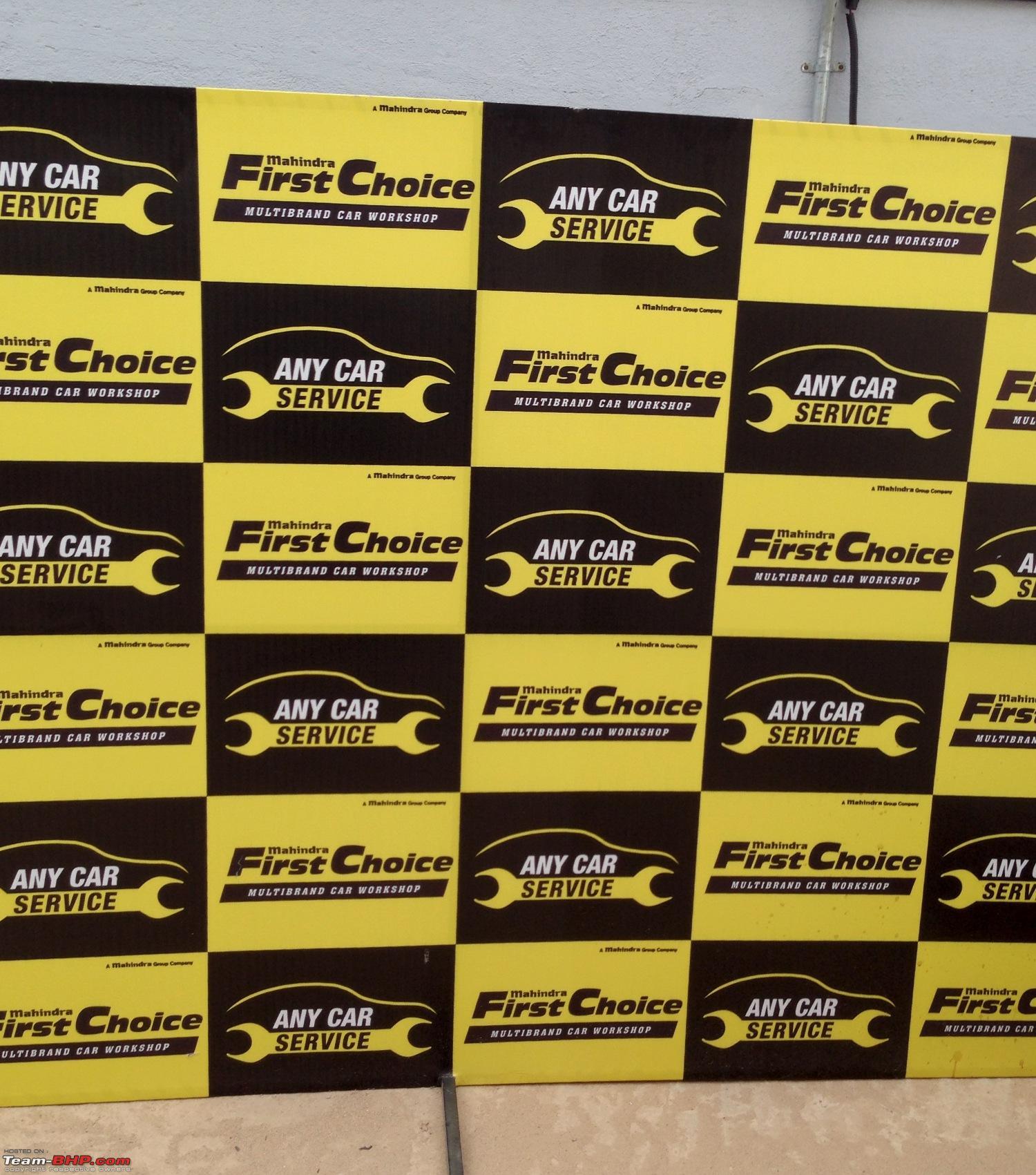 Multi Brand Car Service Mahindra First Choice Bangalore